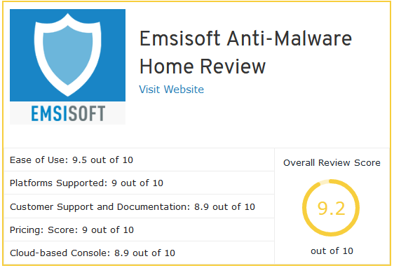 cyber security review example